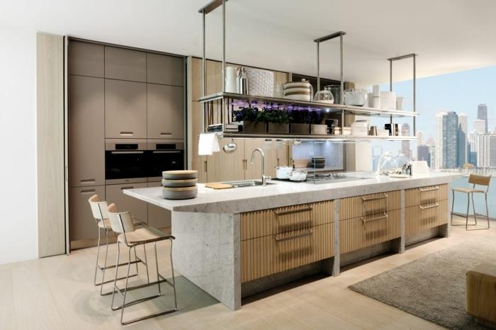 cocinas mobiliario diseño estilos ventilacion maderas