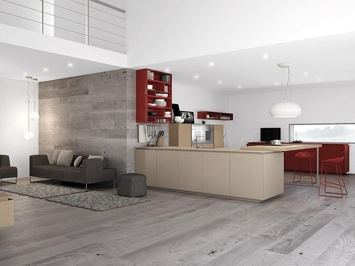 cocinas mobiliario diseño estilos vertidas madera
