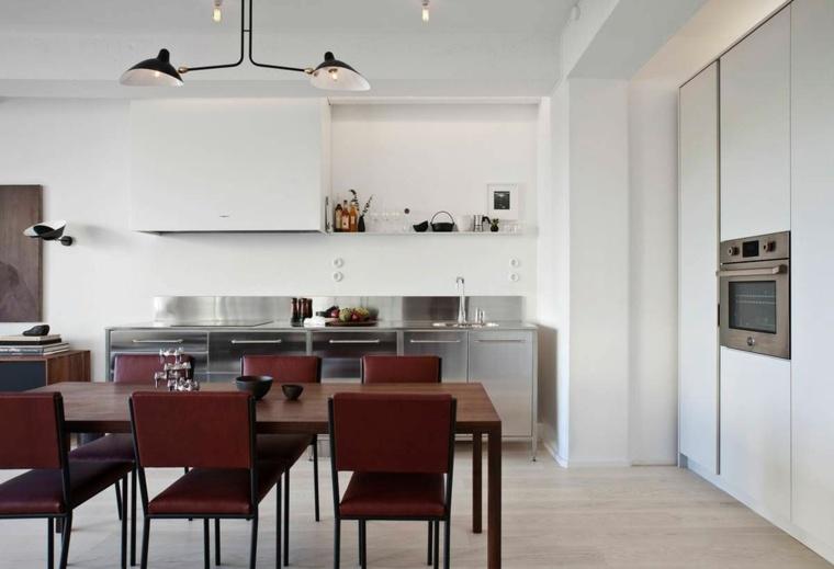 cocina sensilla muebles comedor cocina blanca ideas