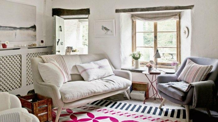 cojines salones paredes soluciones rayas zonas
