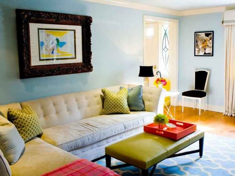 Colores para pintar un salon en 50 espacios diferentes - Colores para pintar un salon pequeno ...