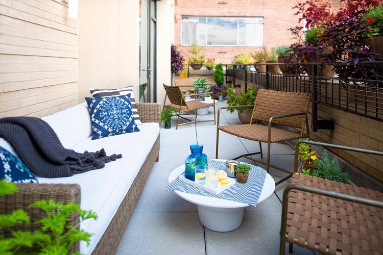 terrazas practicas estilos variantes diseños mesas