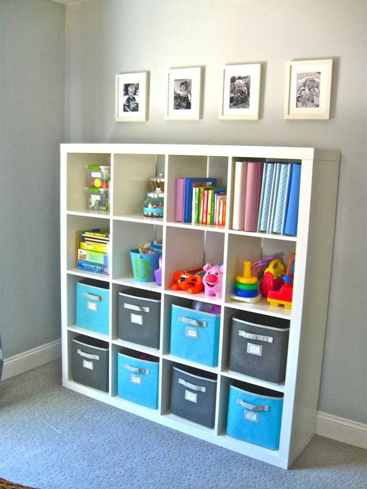 colorido variantes diseño salon azules cuadros