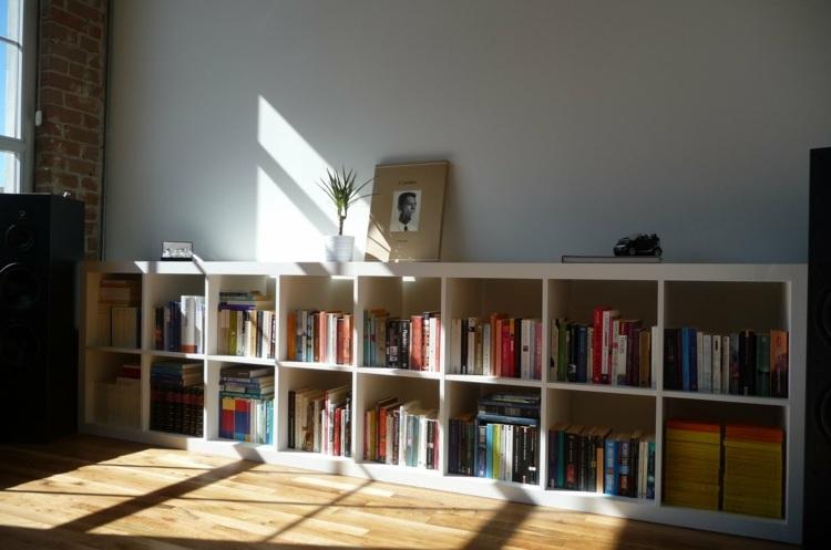 diseño mobiliario diseño salon combinados librero