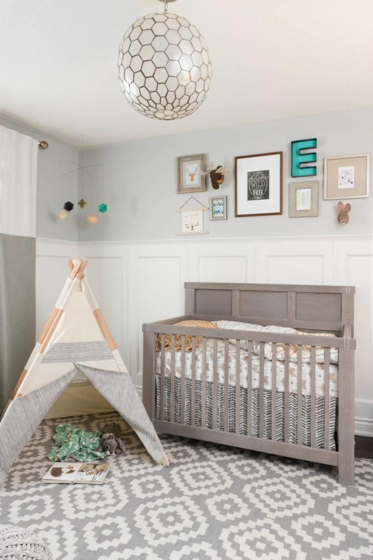 Como decorar una habitacion de bebe 50 soluciones - Alfombra habitacion bebe ...