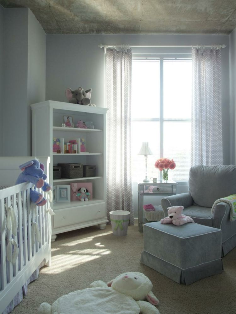 Como decorar una habitacion de bebe 50 soluciones - Como decorar una habitacion de bebe ...