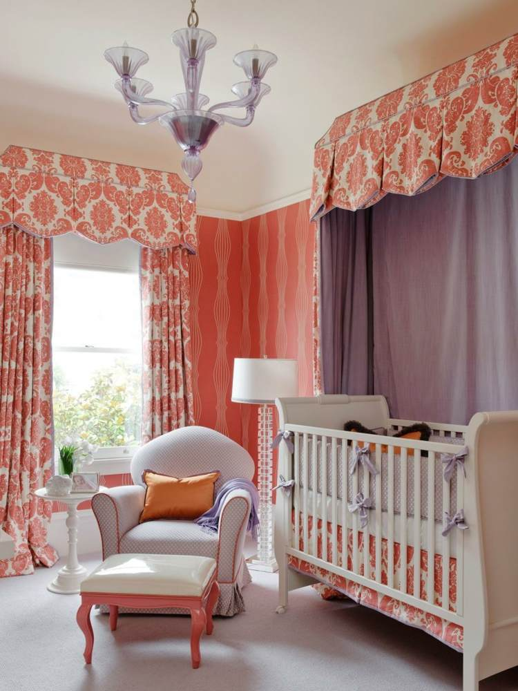 Como decorar una habitacion de bebe 50 soluciones for Cortinas para cuarto de bebe