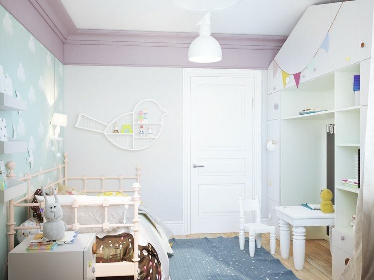 como decorar una habitacion de bebe creatva luminosa
