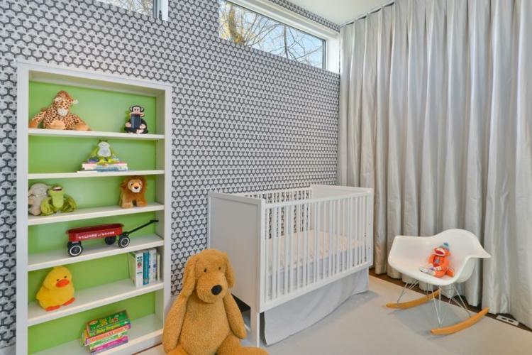 como decorar una habitacion de bebe juguetes paredes