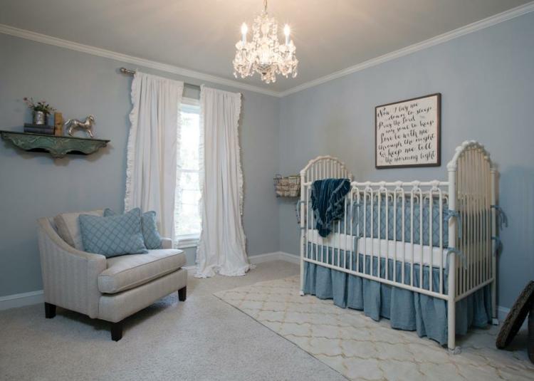 como decorar una habitacion de bebe metales camas calido
