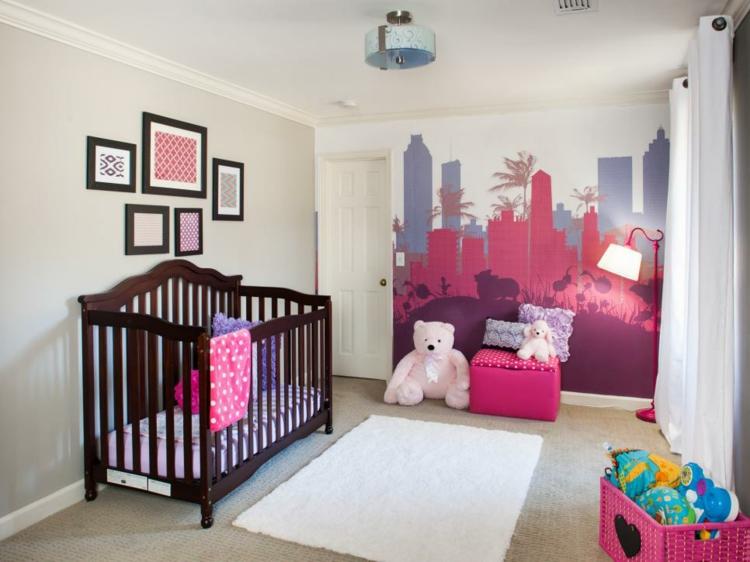 Como decorar una habitacion de bebe 50 soluciones - Alfombras habitacion nino ...