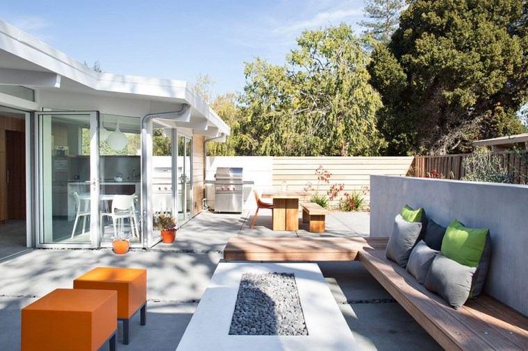 Como decorar una terraza o un jard n 41 opciones - Como decorar una terraza grande ...