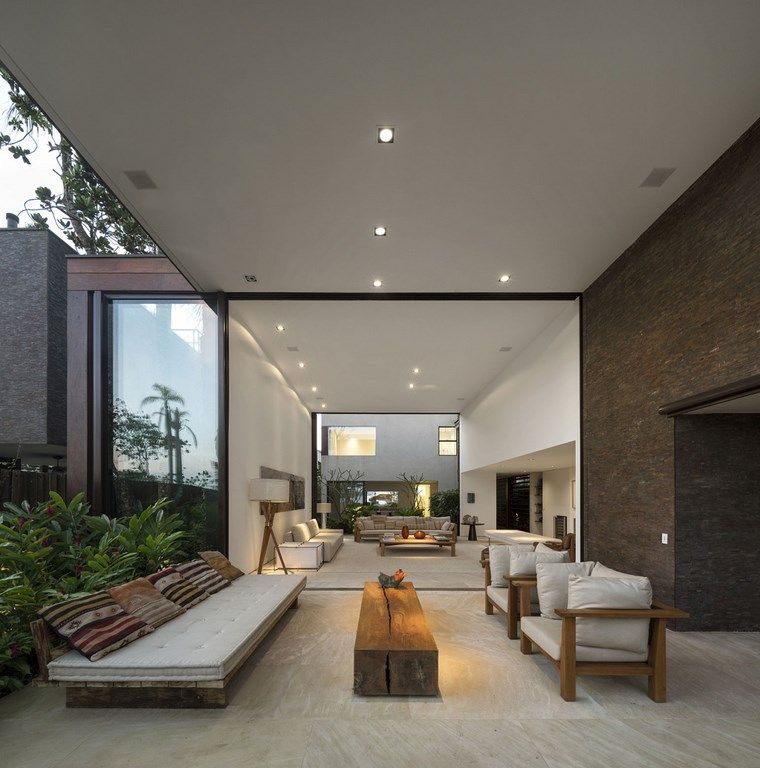 como decorar una terraza mesa madera natural ideas
