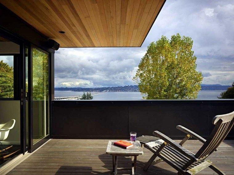 como decorar terraza pequena madera ideas