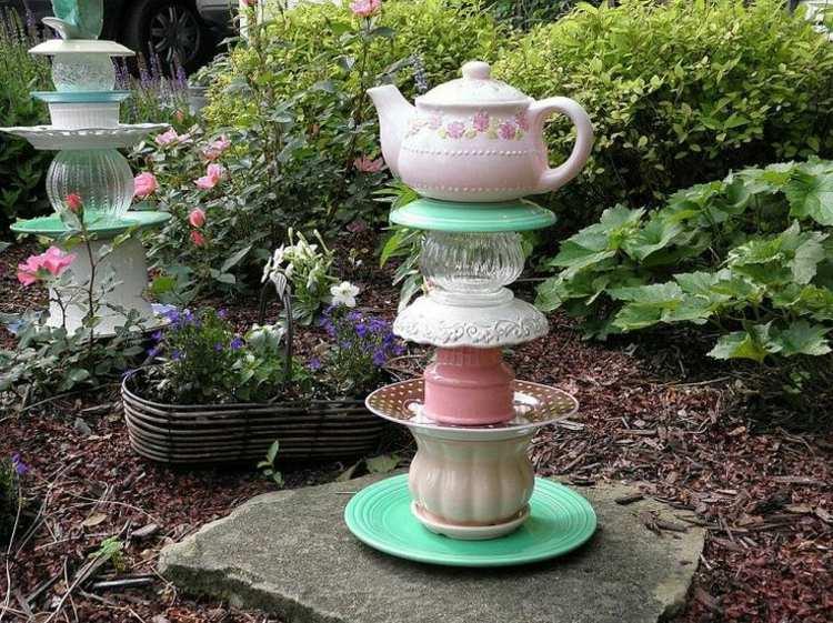 Como hacer manualidades sencillas para el jard n for Como hacer adornos para el jardin