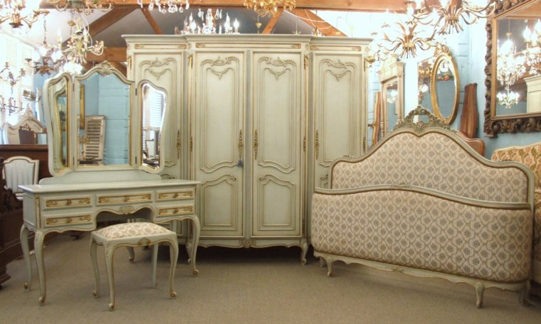 conjunto muebles bonitos westilo vintage