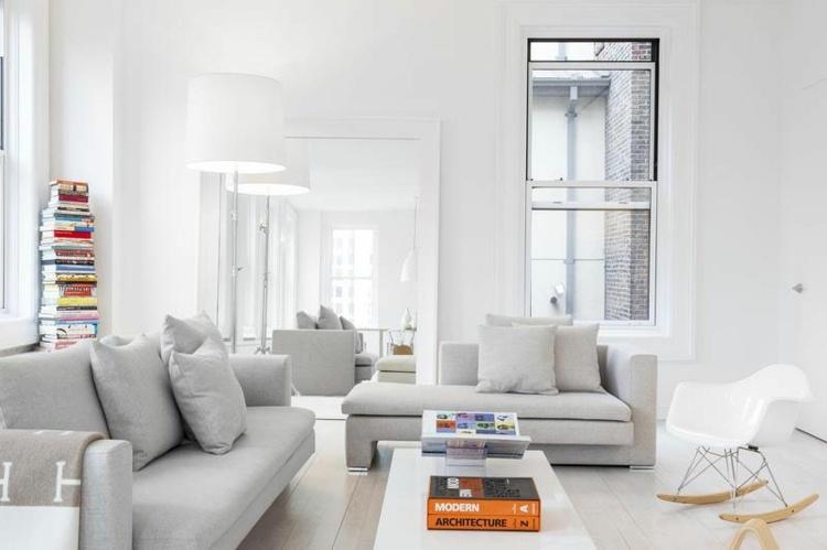 conjunto sofas color gris paloma
