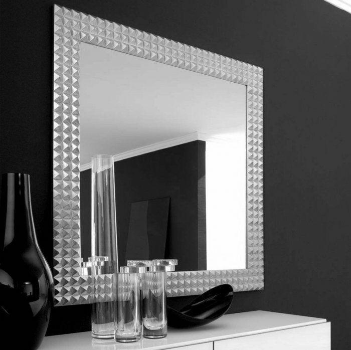 contrastes negro blanco detalles espejo
