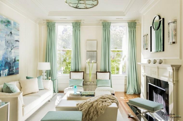 Decoracion cortinas salon - los 50 diseños más modernos -