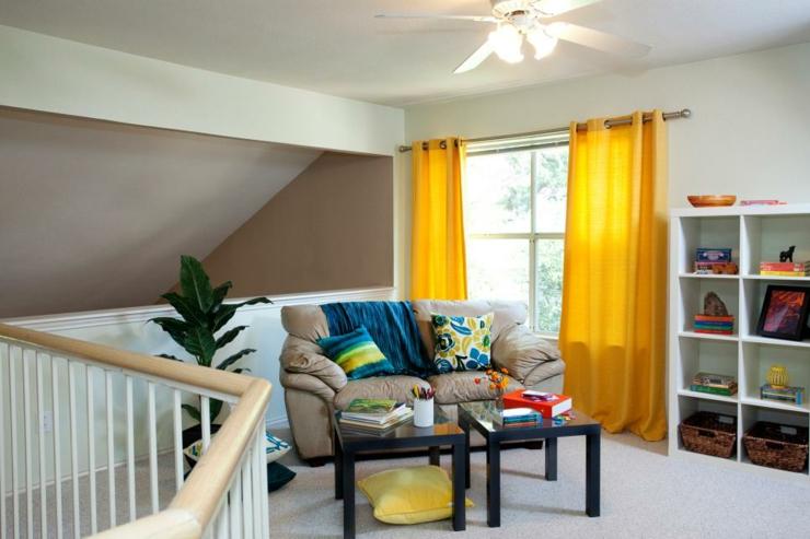 cortinas para salon ideas ideas amarillo diseos plantas