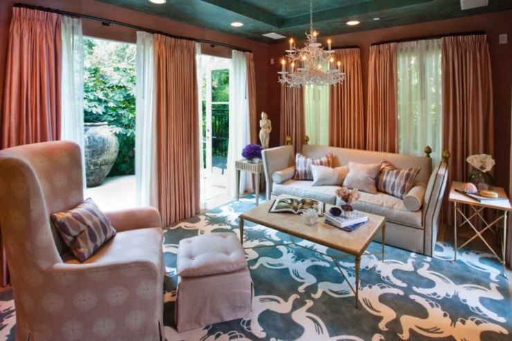 cortinas para salon ideas estilos detalles alfombras