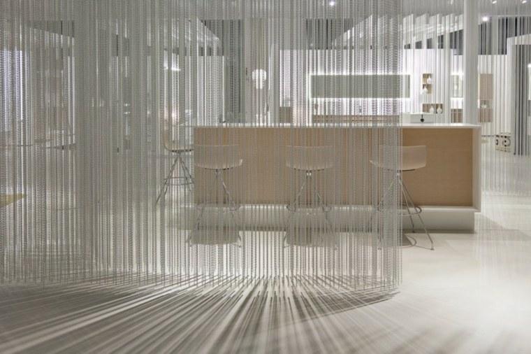 diseo de cortinas decorativas para interiores cortinas modernas collares interiores deco