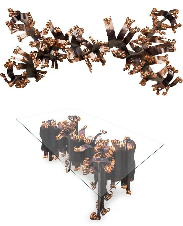 cristales contrastes metales soluciones contemporanea