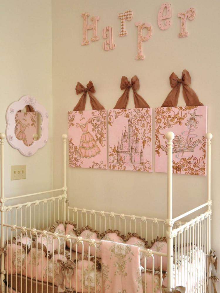 cuadros paredes diseño soluciones rosa blanco