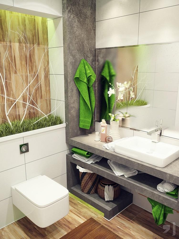 cuarto baño pequeño diseño