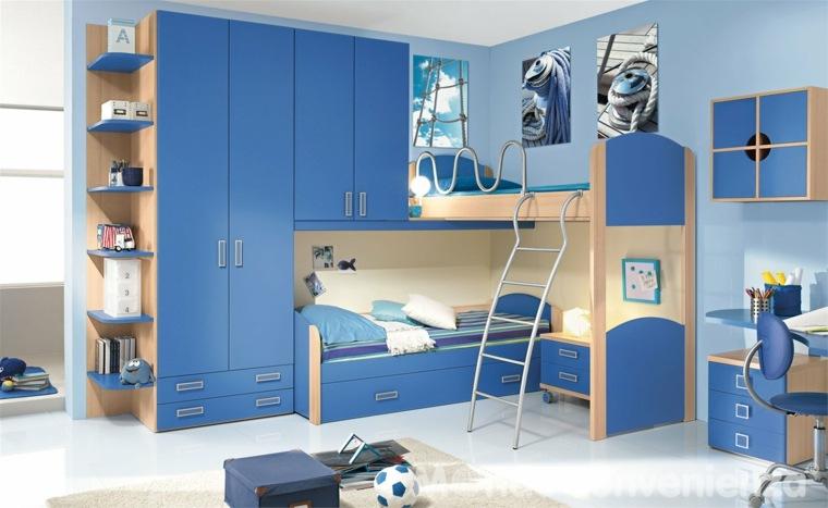 Muebles Habitacion Niño : Cuarto infantil niño opciones coloridas