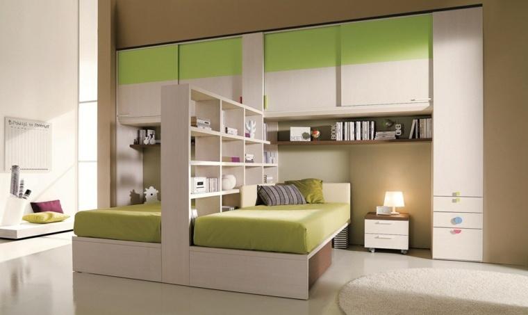 Cuarto infantil ni o 26 opciones coloridas for Habitacion infantil dos camas