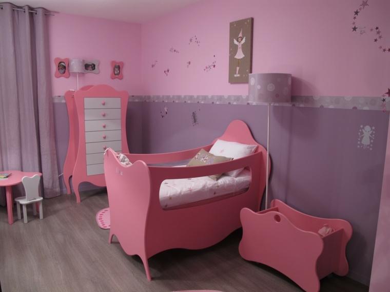 cunas para bebes preciosas color rosa ideas