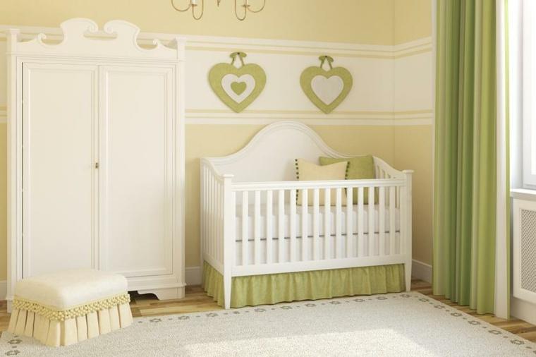 cunas bebe preciosas habitacion verde ideas