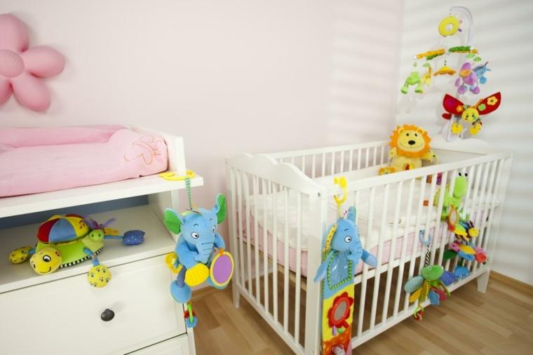 cunas bebe preciosas juguetes coloridos ideas
