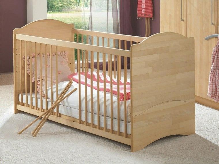 cunas bebe preciosas madera brillante ideas