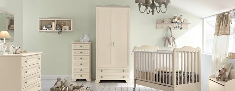 Cunas para bebes 75 opciones para el reci n nacido - Muebles para cuarto de bebe ...