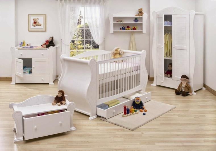 Cunas para bebes 75 opciones para el reci n nacido - Muebles para bebes ...