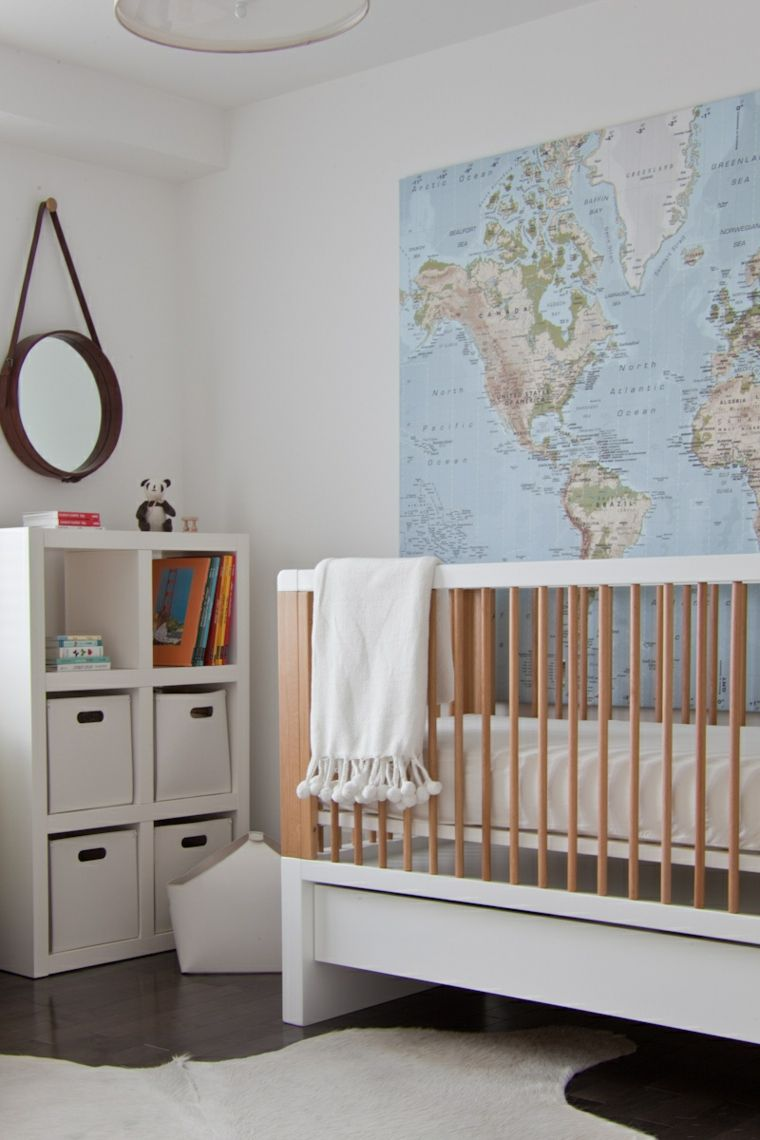 mapa habitacion bebe cuna ideas