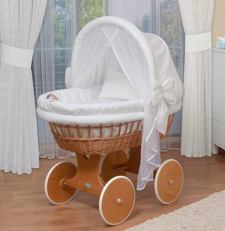cunas bebe preciosas ruedas interesante diseno ideas