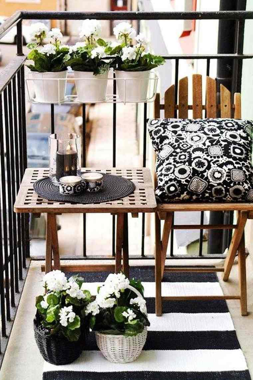 decoracion de balcones modernos pequeños