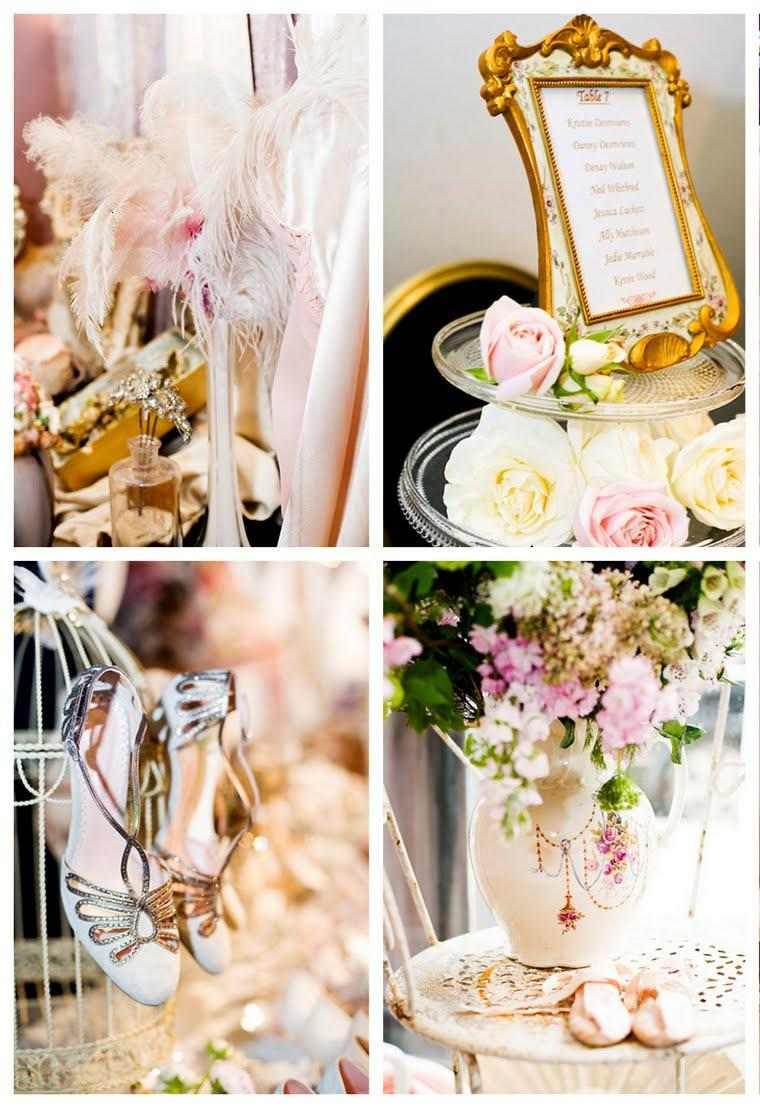 centros adornos florales boda