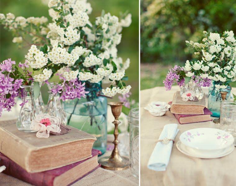mesa boda estilo retro