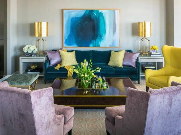 decorar salones bonitos colores