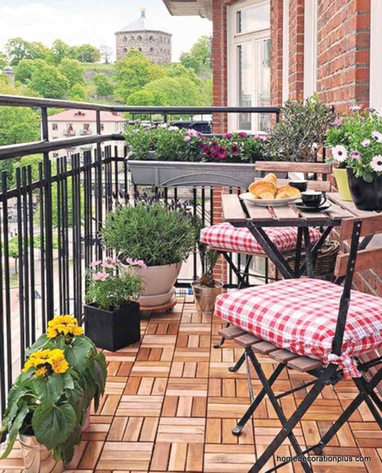 Ideas para decorar terrazas de manera econ mica - Plantas terraza ...