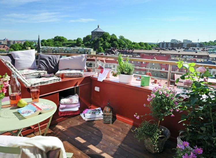 decoración terrazas estilo chill