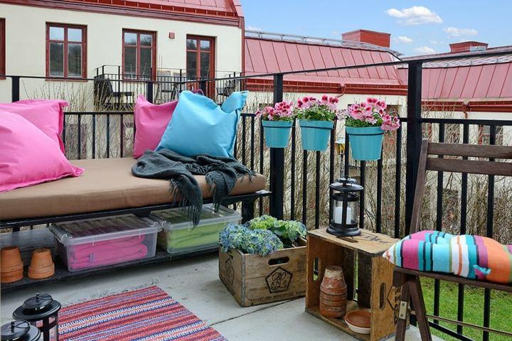 La primavera en nuestra terraza - 25 diseños -