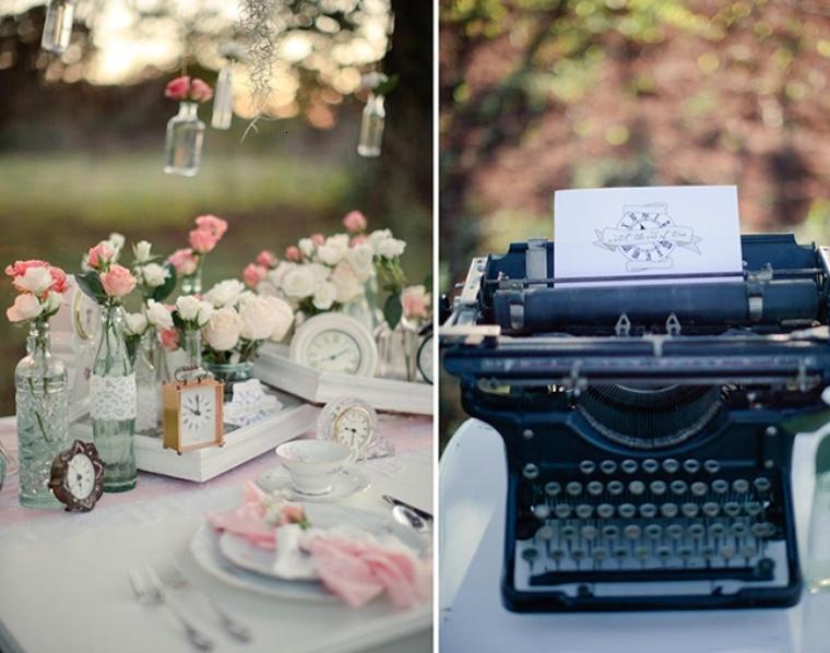 relojes maquina escribir vintage