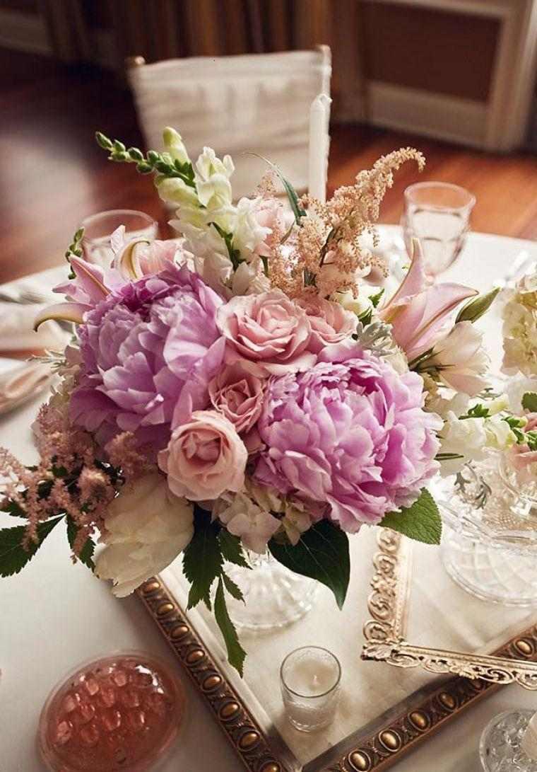decoración mesa lujosa vintage