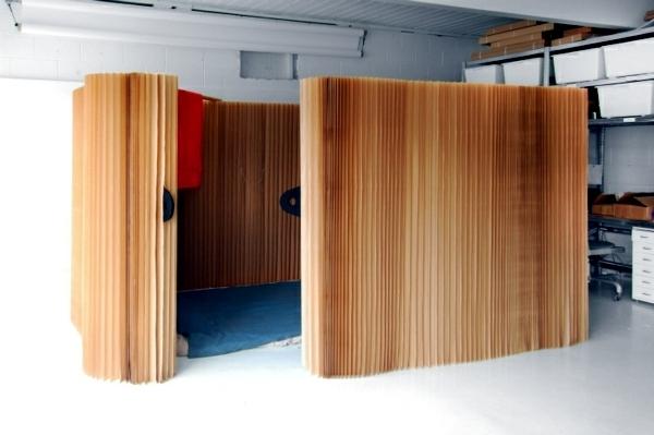caseta habitacin separador molo gradas diseos asientos biombo