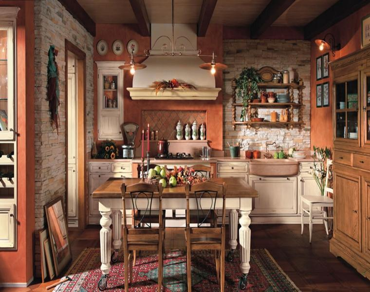 Image gallery decoraciones antiguas for Cocinas rusticas modernas